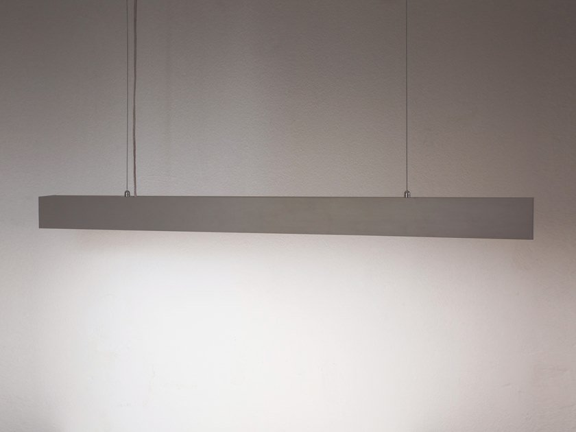 LED Anodized aluminium pendant lamp SPACE by Ledevò