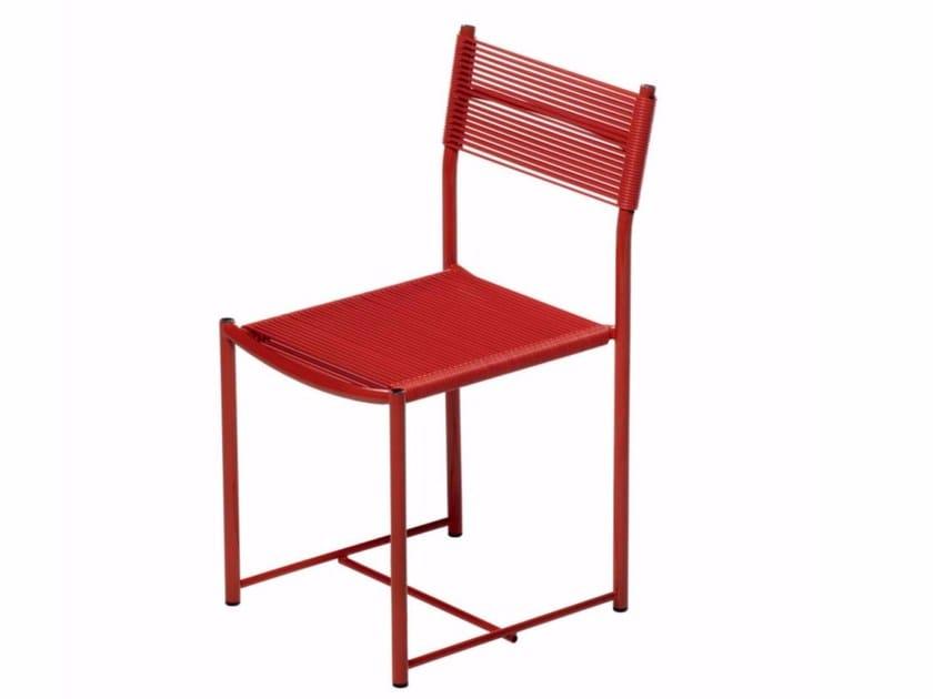 Steel and PVC chair SPAGHETTI XS - 112 by Alias