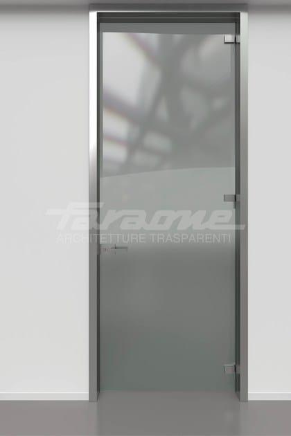 SPAZIO | Divisori open-space Porte con imbotte in alluminio 3 cerniere