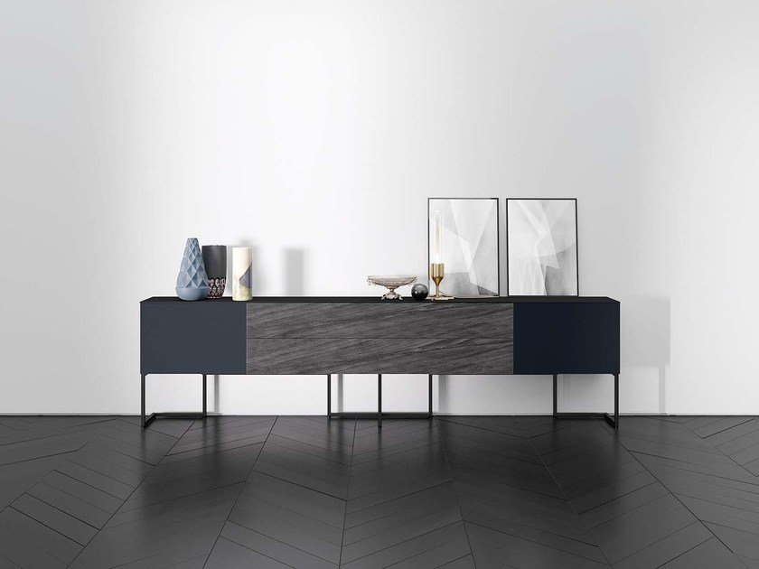 Lacquered sideboard SPAZIO S410 by PIANCA