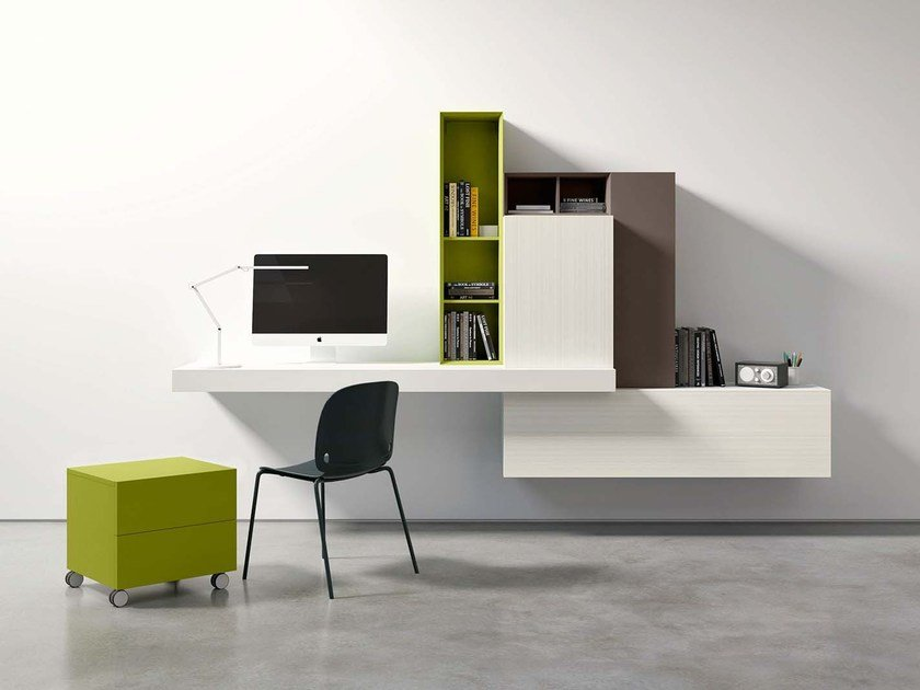 Secretary desk SPAZIO S416 by PIANCA