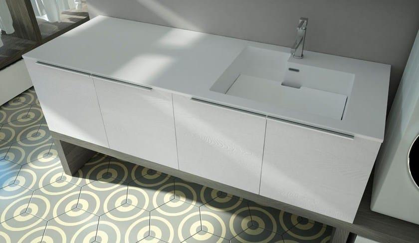 SPAZIO TIME 06 | Mobile lavanderia con lavatoio