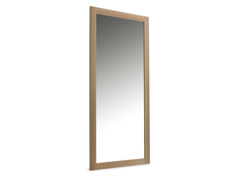 Rectangular wall-mounted framed mirror SPECCHIERA by Riva 1920