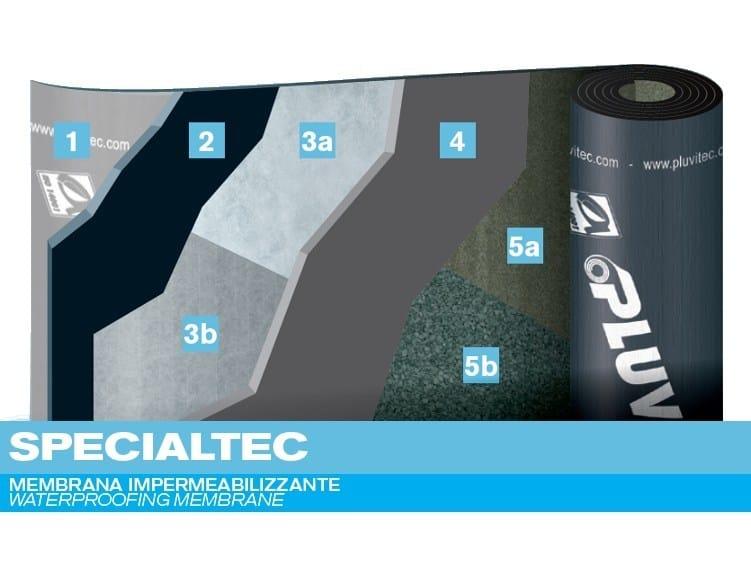 Prefabricated bituminous membrane SPECIALTEC by PLUVITEC