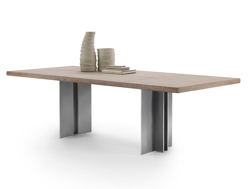 Rectangular table SPELLO by FLEXFORM