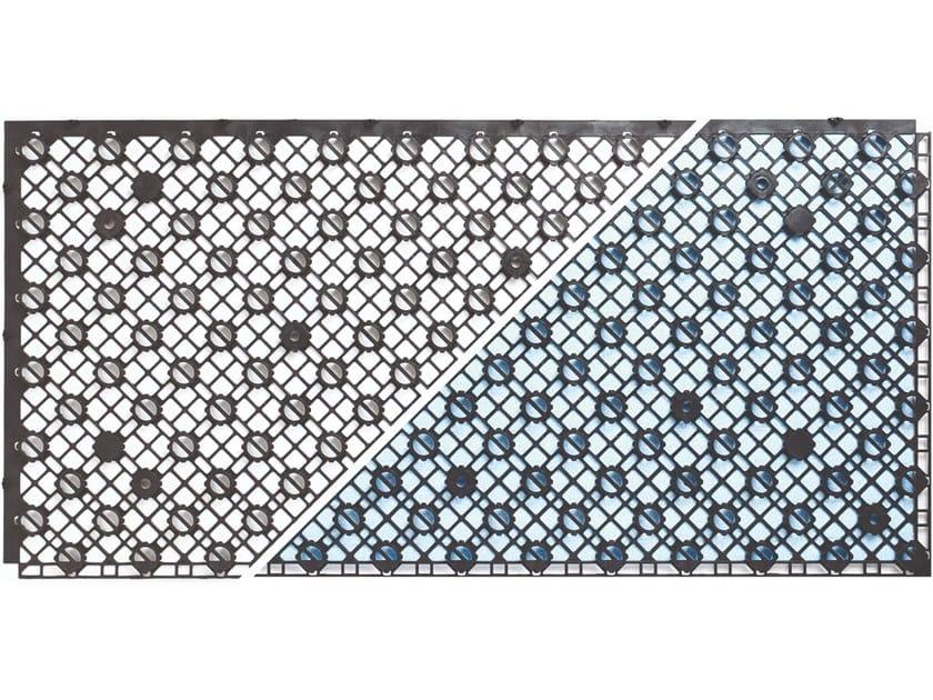 Radiant floor panel SPIDER SLIM by Giacomini
