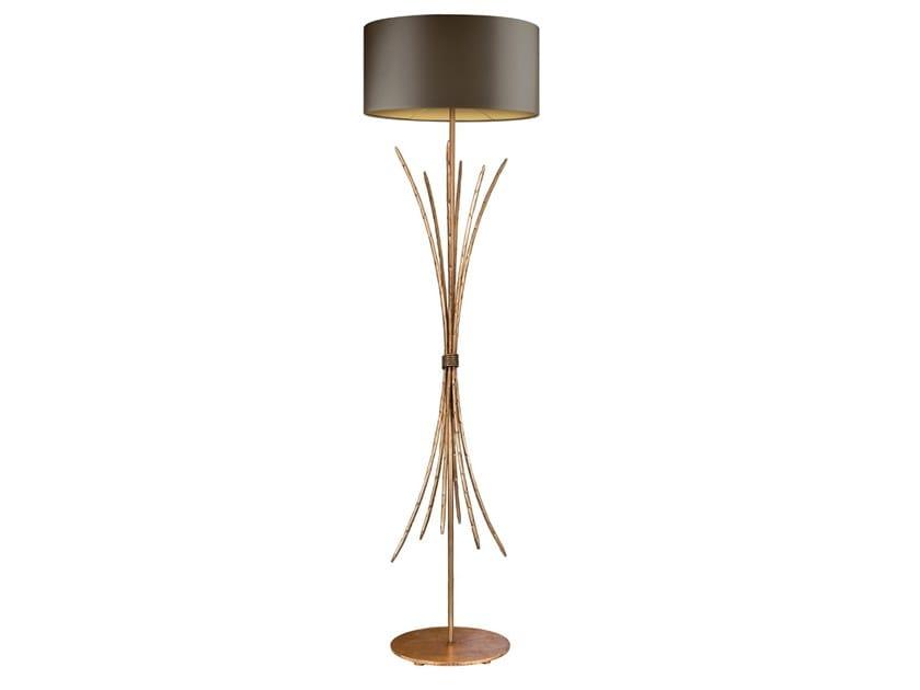 Lampada da terra fatta a mano in metallo SPIGA   Lampada da terra by Abrissi