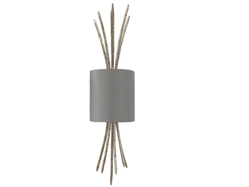 Lampada da parete fatta a mano in metallo SPIGA | Lampada da parete in metallo by Abrissi