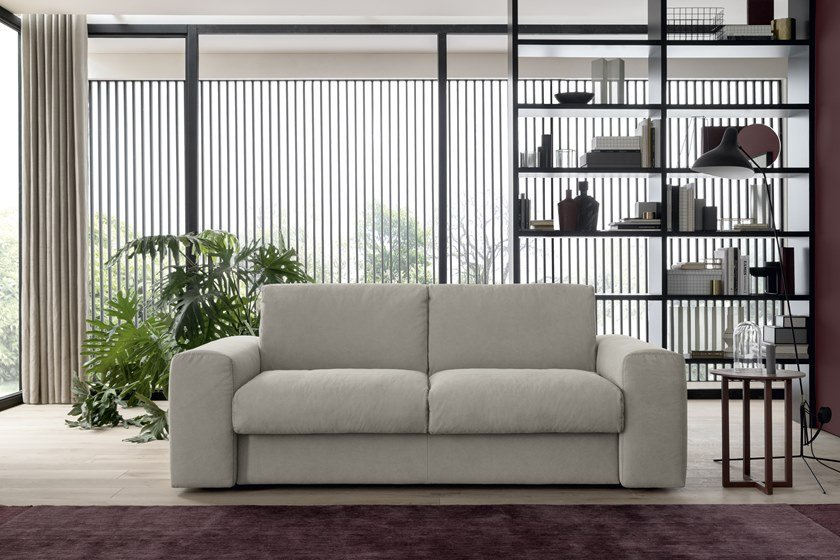 3 seater fabric sofa bed SPIKE | 3 seater sofa bed by Felis