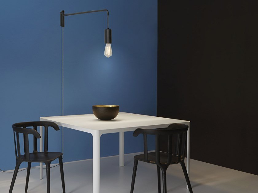 Adjustable wall lamp SPILLO 160/41 by Gibas