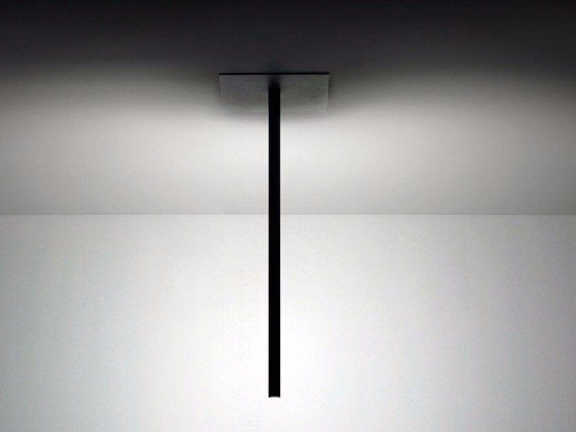 LED adjustable metal ceiling lamp SPILLO | Ceiling lamp by DAVIDE GROPPI