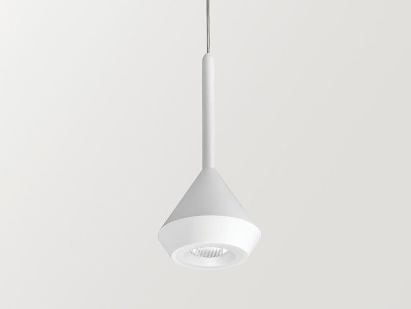 Lampada a sospensione a LED in alluminio SPIN by Arkoslight