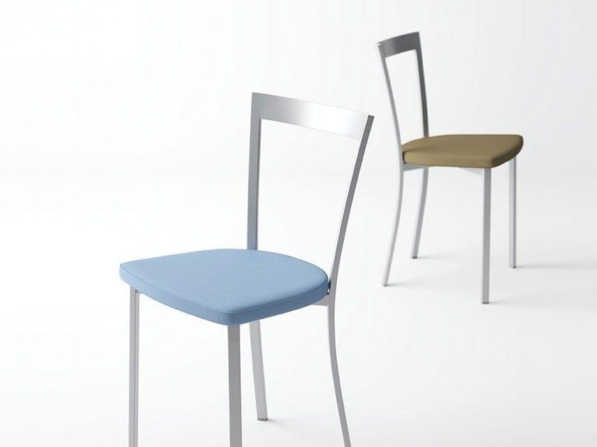 Open back restaurant chair SPIRIT by CANCIO