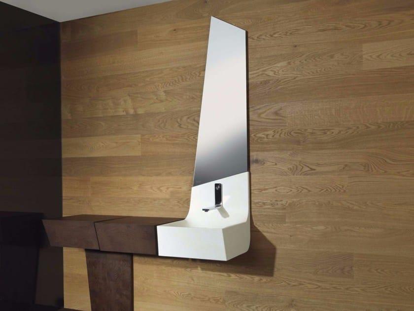 Wall-mounted bathroom mirror SPIRIT II   Bathroom mirror by L'antic Colonial