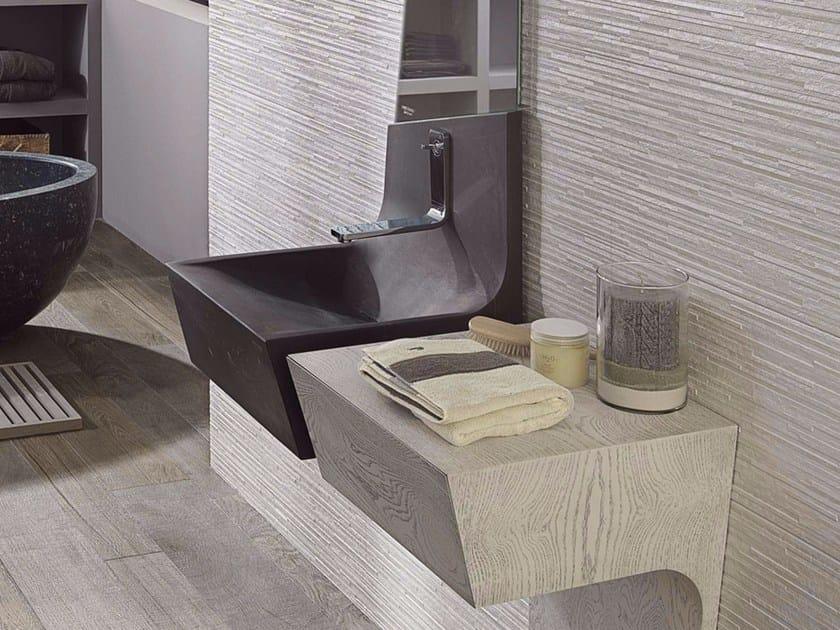 Wall-mounted natural stone washbasin SPIRIT | Wall-mounted washbasin by L'antic Colonial