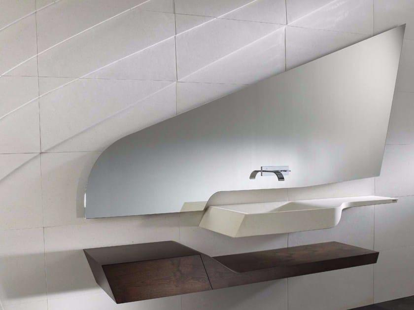 Wall-mounted bathroom mirror SPIRIT NEBOA   Bathroom mirror by L'antic Colonial