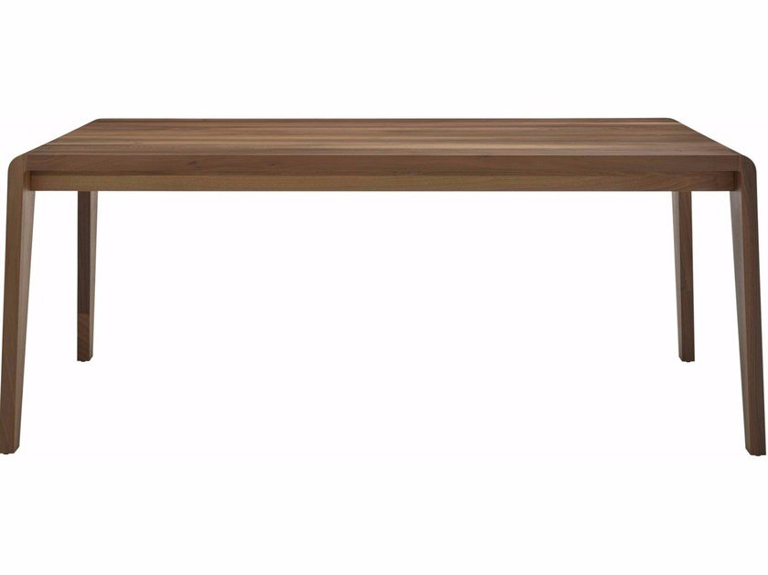 Walnut dining table SPIRIT OF FOREST by Ligne Roset