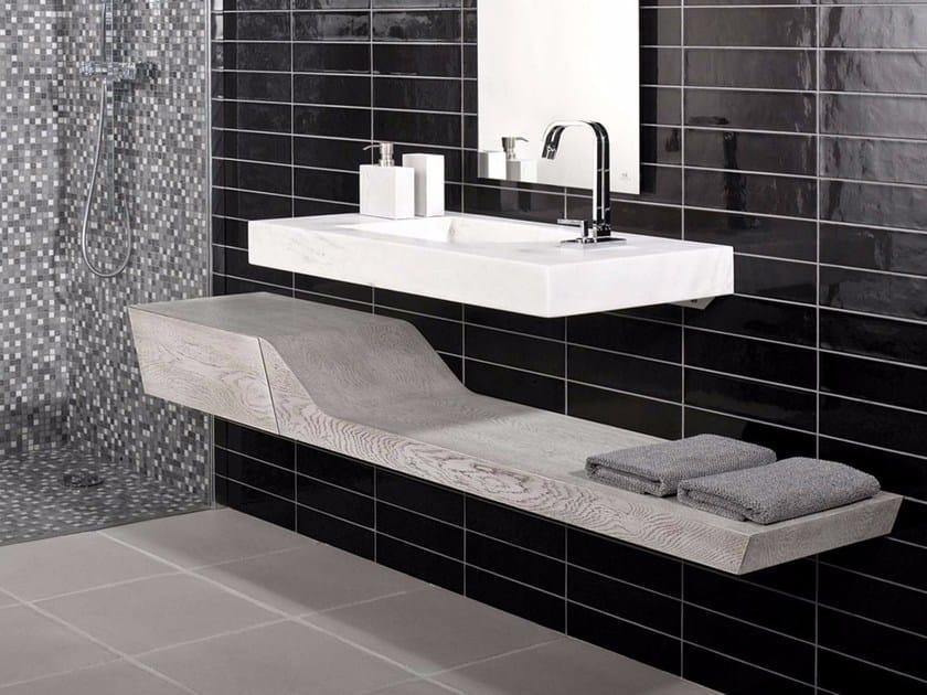 Wooden washbasin countertop SPIRIT   Washbasin countertop by L'antic Colonial