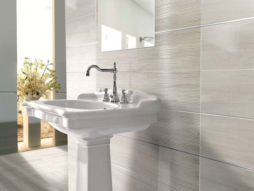 Double Fired Ceramic Wall Tiles Splendida Shiny Bamboo By Ceramiche Brennero
