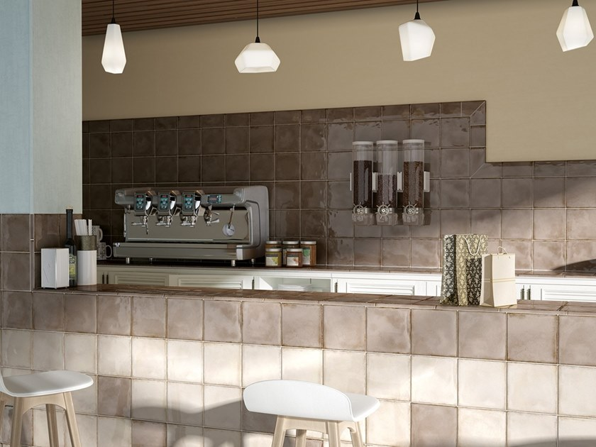 Indoor white-paste wall tiles SPLENDOURS by EQUIPE CERAMICAS