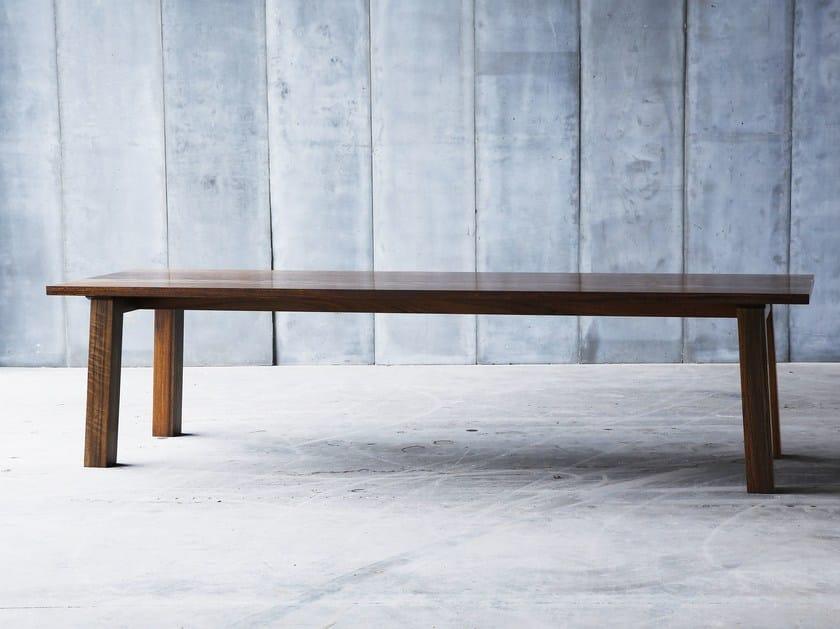 Custom table SPO AFRICAN WALNUT by Heerenhuis