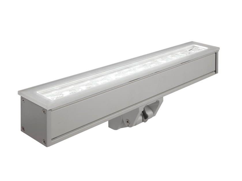 Faretto per esterno a LED da parete in alluminio SPOT LED 2038 by Metalmek