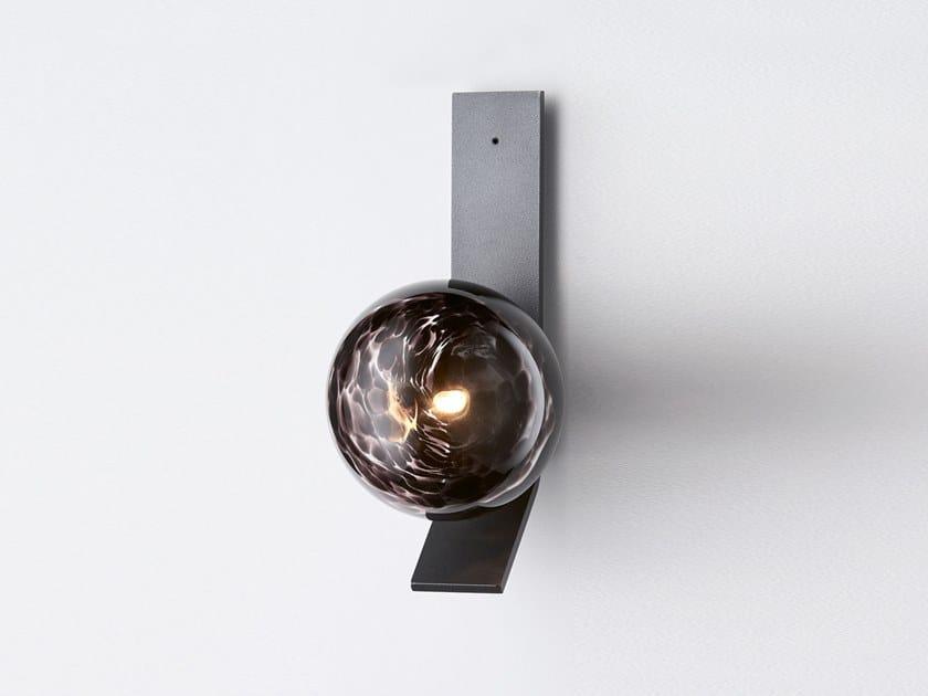 Lampada da parete a LED in vetro soffiato SPOTI   Lampada da parete by Articolo Lighting