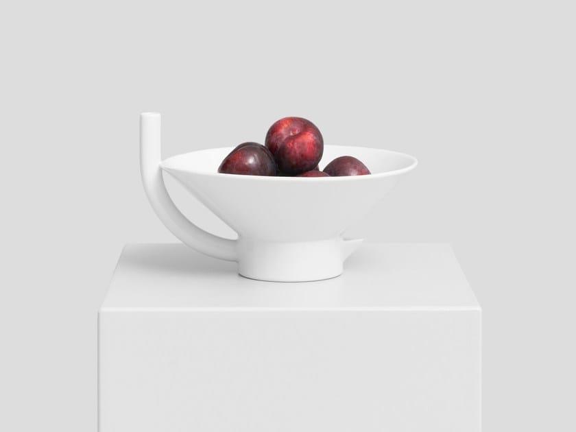 Porcelain bowl SPOUT by UTIL