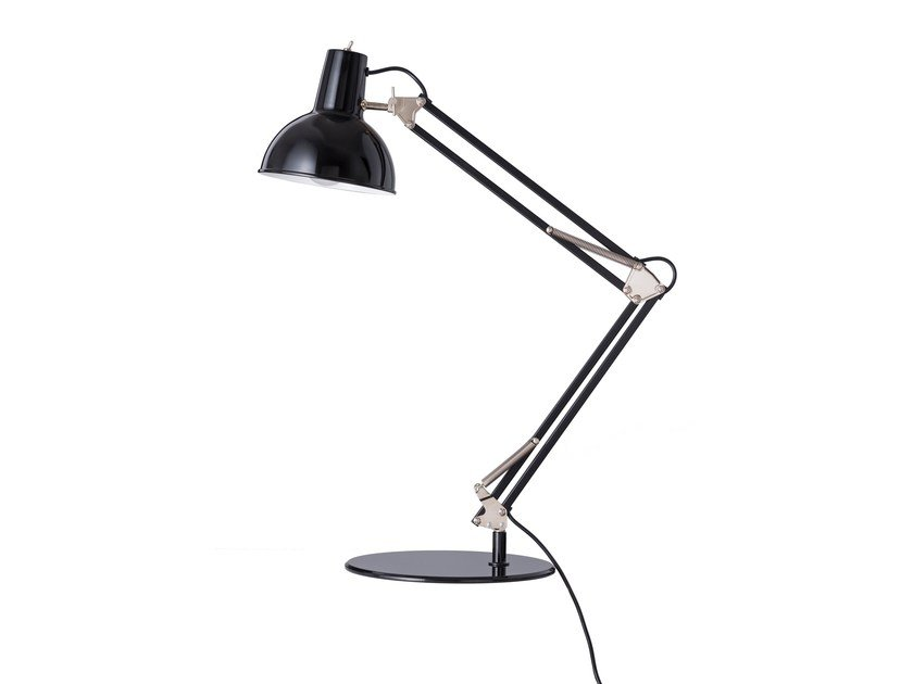 Lampada da scrivania orientabile in metallo SPRING-BALANCED LAMP by Midgard