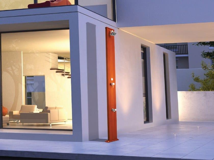 Aluminium outdoor shower SPRING S by ARKEMA DESIGN