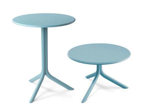 Round garden side table SPRITZ | Tavolino in fibra di vetro by Nardi