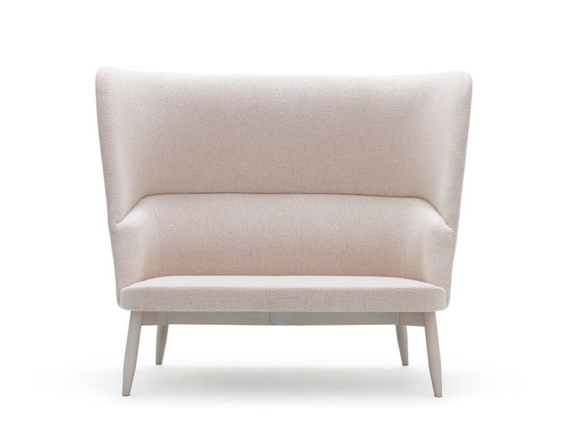 High-back small sofa SPY 665 by Billiani