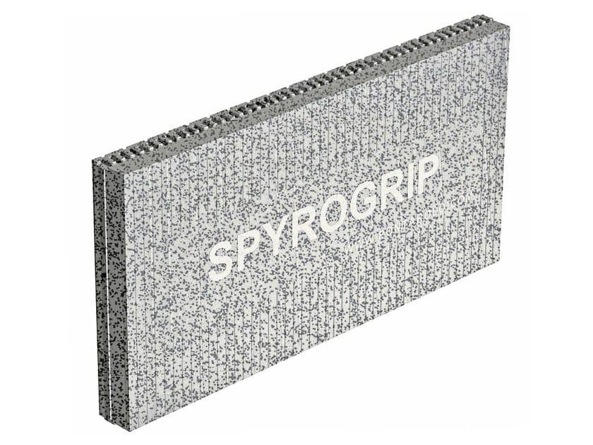 Exterior insulation system SPYROGRIP by PONTAROLO