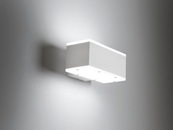 Applique per esterno in alluminio squadra g by bel lighting