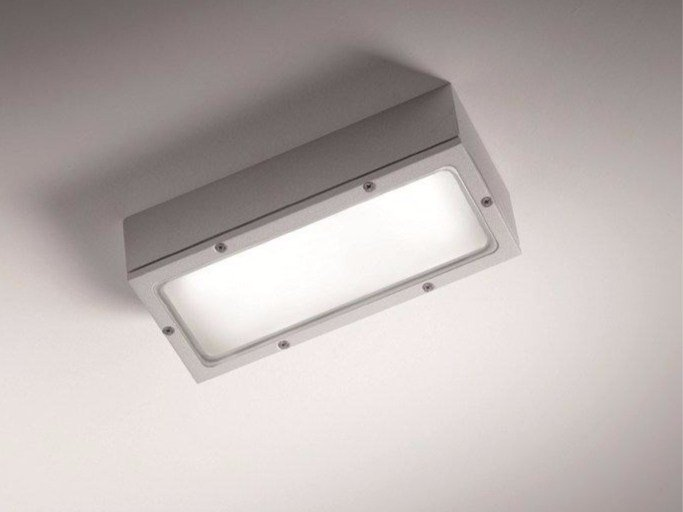 Aluminium outdoor ceiling light SQUADRA TR by BEL-LIGHTING