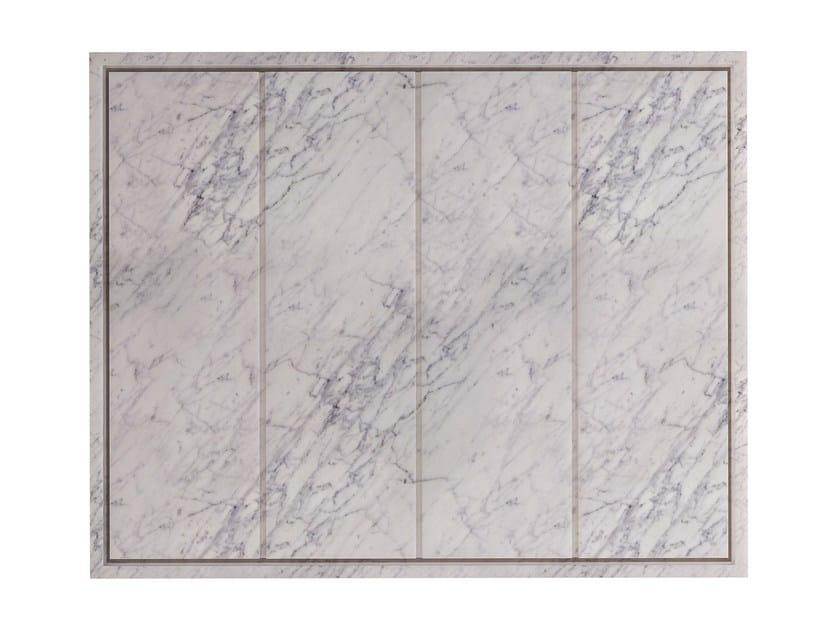 Rectangular Carrara marble shower tray SQUARE | Carrara marble shower tray by FILODESIGN