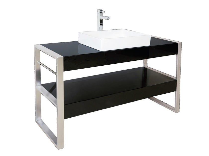 Pietraluce® console sink SQUARE B2   Console sink by Technova