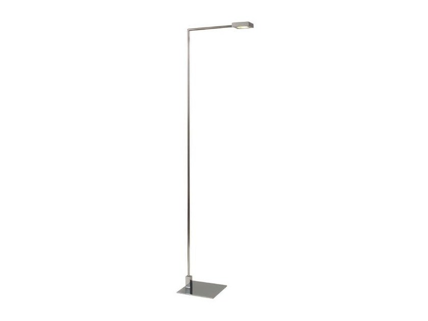 LED direct light metal floor lamp SQUARE | LED floor lamp by Aromas del Campo