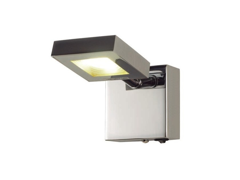 LED metal wall lamp SQUARE | LED wall lamp by Aromas del Campo