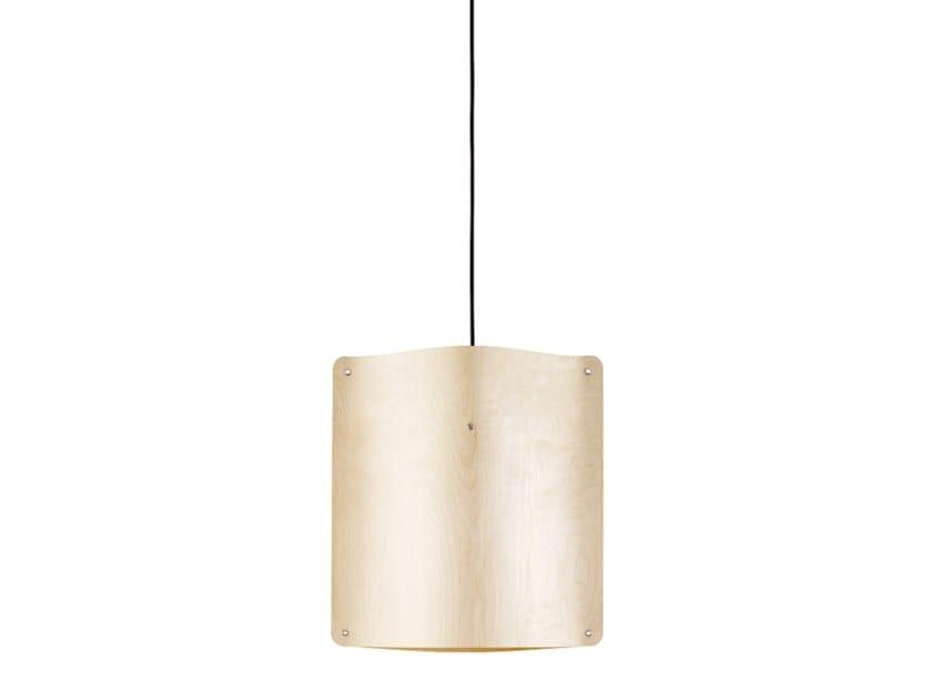 80c1ae575d287 Finom Lights SQUARE PENDANT SMALL. LED multi-layer wood pendant lamp.  Design by Esa Vesmanen