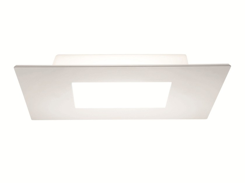 LED polyethylene ceiling light SQUARE_SQ by Linea Light Group