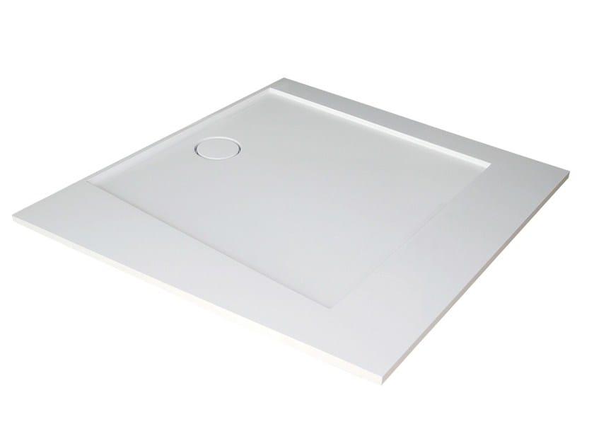 Custom Pietraluce® shower tray SQUARE | Shower tray by Technova