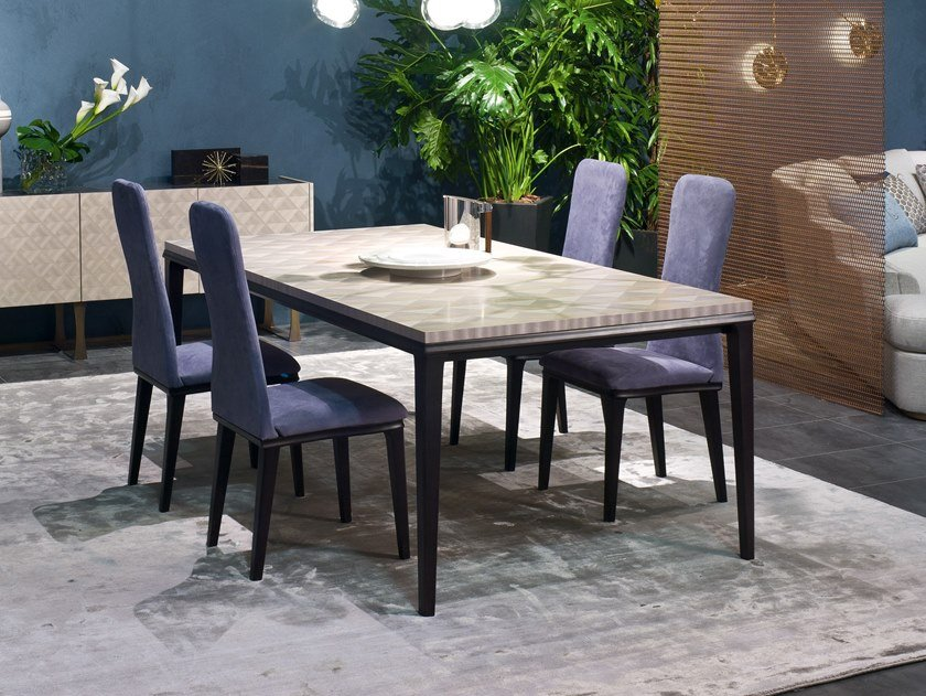 Rectangular table SQUARE | Table by Carpanelli Contemporary