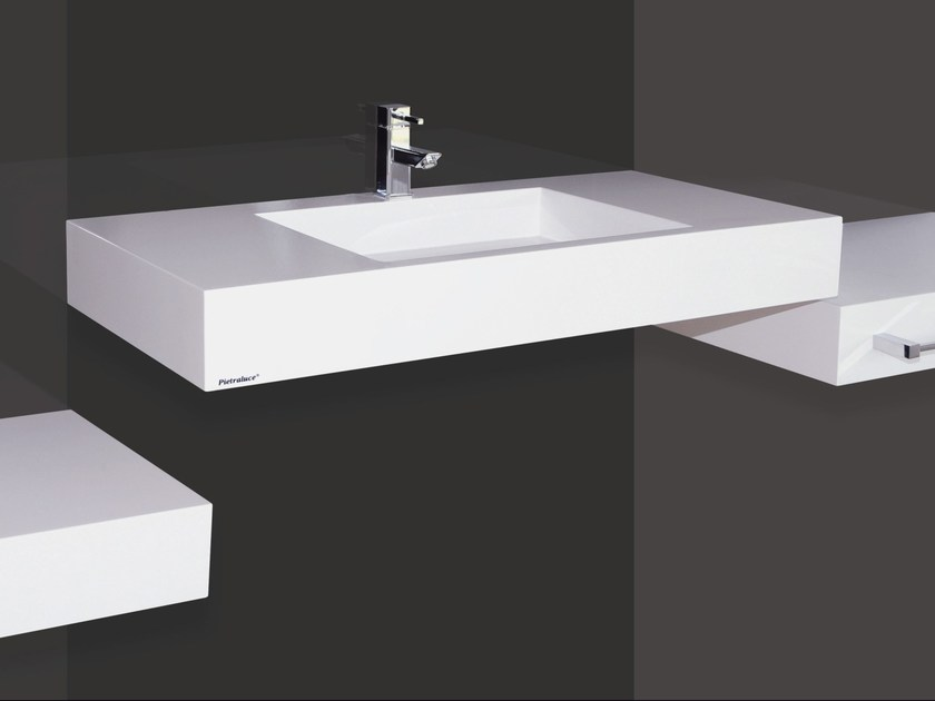 Custom Pietraluce® washbasin SQUARE | Custom washbasin by Technova