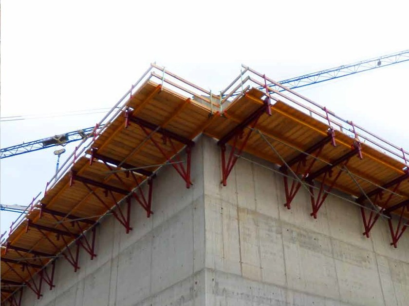 Sistema per muratura portante in cls gettato in opera Sistema rampante SRC-240 by Condor