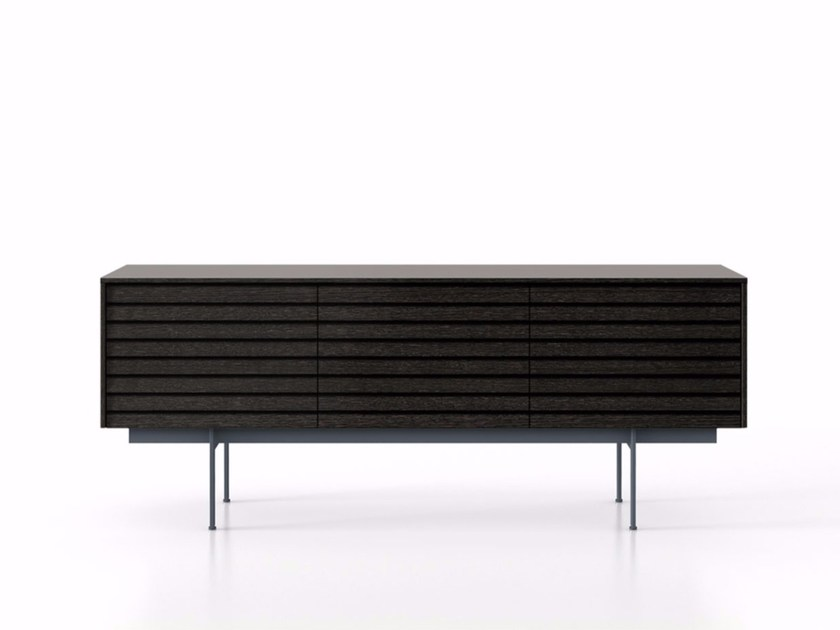 Wooden sideboard with drawers SSX312 | Sideboard with drawers by Punt