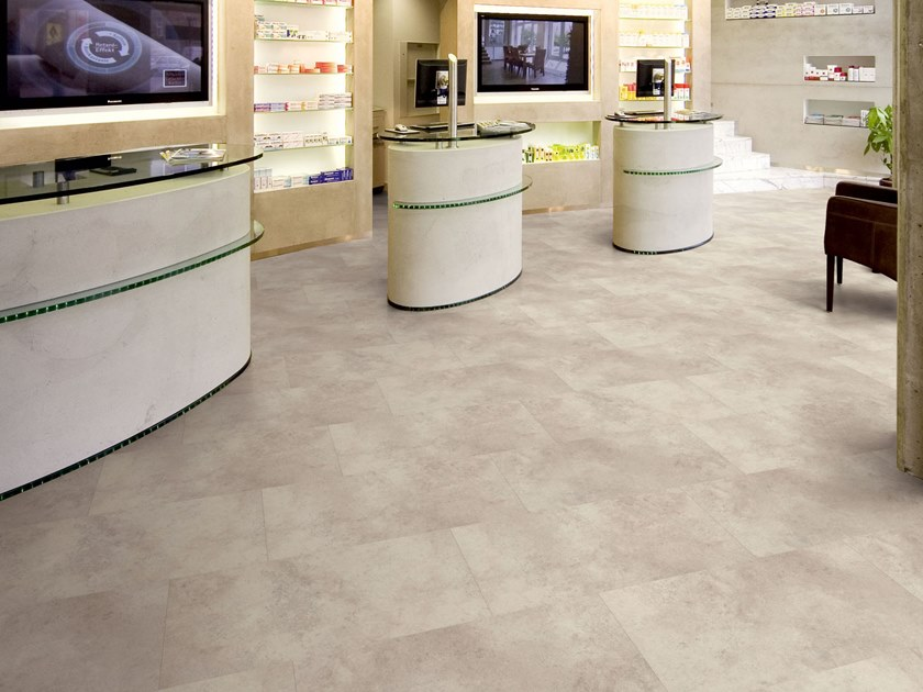 PVC flooring with stone effect ST 200 by PROJECT FLOORS