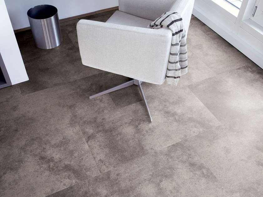 PVC flooring with stone effect ST 201 by PROJECT FLOORS