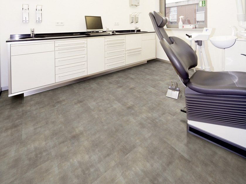 PVC flooring with stone effect ST 225 by PROJECT FLOORS