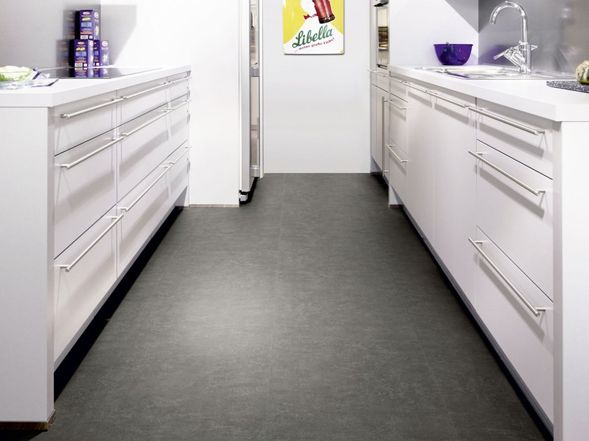 PVC flooring with stone effect ST 231 by PROJECT FLOORS
